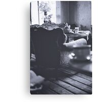 East Berlin Cafe Canvas Print