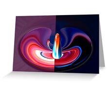 abstract 410 Greeting Card