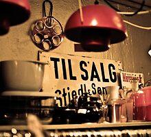 Second Hand Shop in Copenhagen by NikonNoob