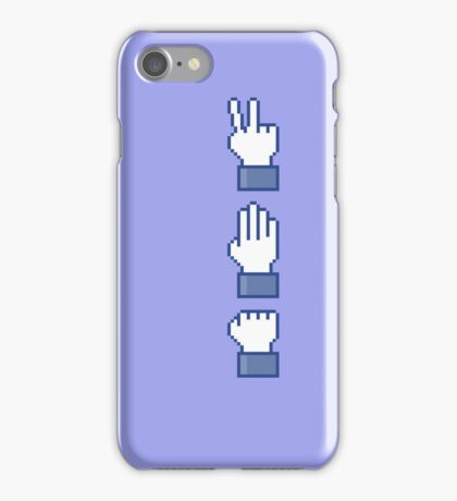 Stone Likes Scissors...on the move! iPhone Case/Skin