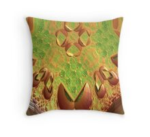Android Snake Head Throw Pillow