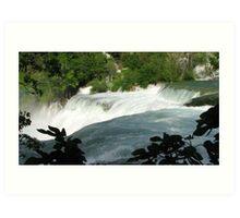 Waterfalls of Krka Art Print