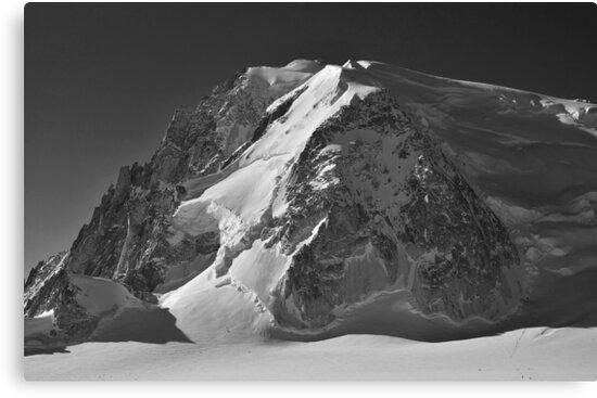 mont blanc de Tacul by neil harrison