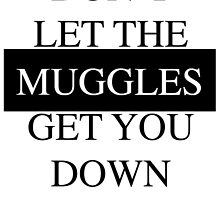 filthy muggles. by cjfeisty