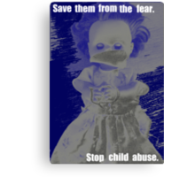 Child abuse awareness Canvas Print