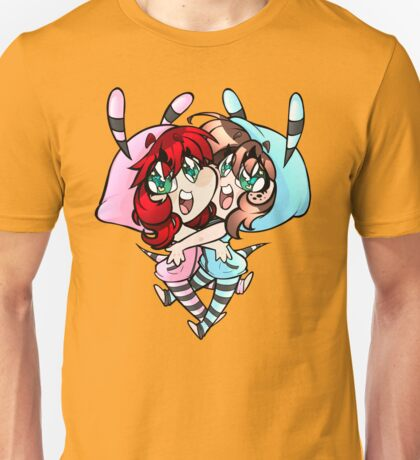 Super Uguu Cotton Candy Bees Unisex T-Shirt