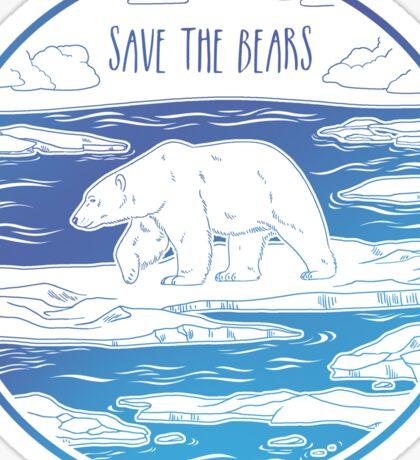 Save the Bears! Sticker