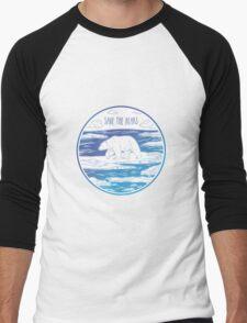 Save the Bears! Men's Baseball ¾ T-Shirt