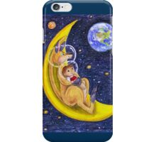 "Illustrazione per  ""Il canguro giramondo"" iPhone Case/Skin"