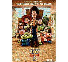 Mosaic Movie Poster: Toy Story 3 Photographic Print