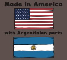 Made In America With Argentinian Parts Baby Tee