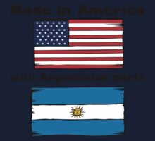 Made In America With Argentinian Parts One Piece - Long Sleeve