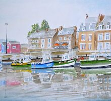 Waiting for the tide by HurstPainters