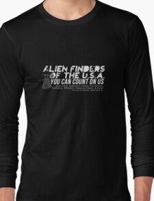 Alien Finders Long Sleeve T-Shirt