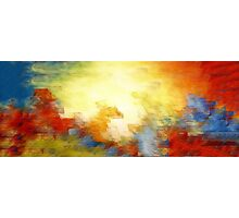 Splash of Colors Oil Painting Photographic Print