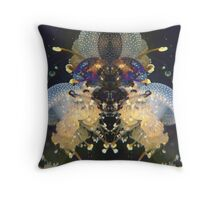 Jellyfish Space Being Throw Pillow