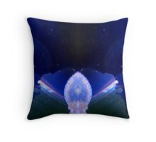 Light Being on Earth Throw Pillow