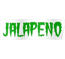 Jalapeno (word) Poster