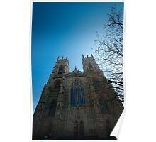 York Minster from the front Poster
