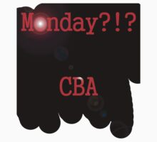 Monday CBA by GKzGamerKing