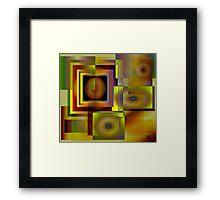 A Maze ing Framed Print
