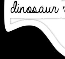 Dinosaur Races Sticker