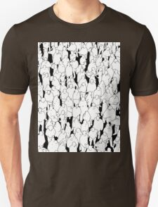 Public assembly B&W T-Shirt