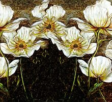 Wild Flowers Oil Painting by Fred Seghetti