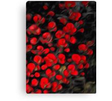 Night Wild Flowers Oil Painting Canvas Print
