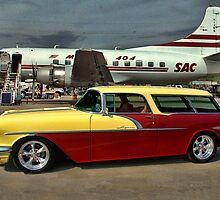 1956 Pontiac Safari Station Wagon by TeeMack