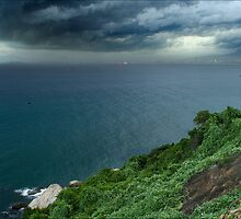 Stormy Danang by Karl Willson