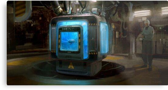 HENRi Brain Machine by Eli  Sasich