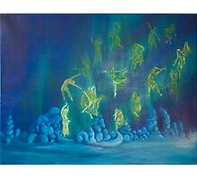 Dance of the Aurora Photographic Print