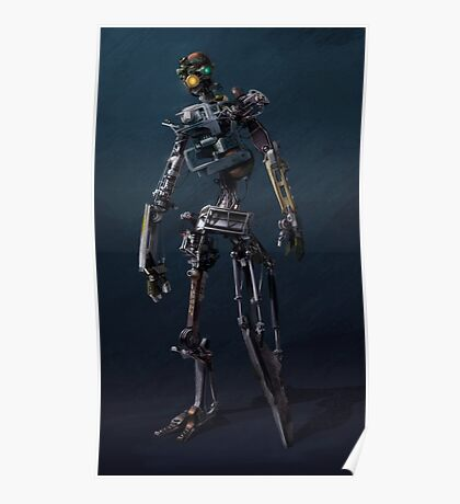 HENRi Robot Concept Poster