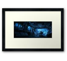 HENRi Thinking Man Framed Print