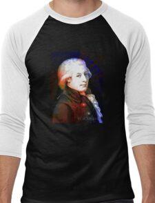 Amadeus Mozart  Men's Baseball ¾ T-Shirt