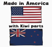 Made In America With Kiwi Parts One Piece - Short Sleeve