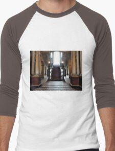 Mansion Staircase Men's Baseball ¾ T-Shirt