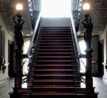 Mansion Staircase Sticker