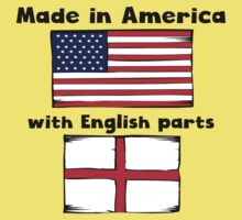 Made In America With English Parts One Piece - Short Sleeve