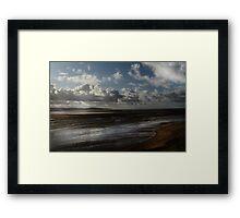 Tidal Mudflats Framed Print