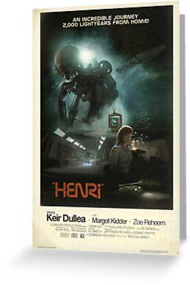 HENRi Poster by Eli  Sasich