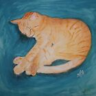 My Beautiful Orange Kitty by nayohme