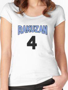 Kuroko No Basket Rakuzan 4 Akashi Jersey Anime Cosplay Japan T Shirt Women's Fitted Scoop T-Shirt