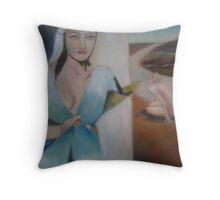 womens Throw Pillow