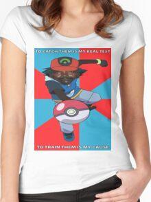 Kony Pokemon Women's Fitted Scoop T-Shirt