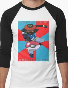 Kony Pokemon Men's Baseball ¾ T-Shirt