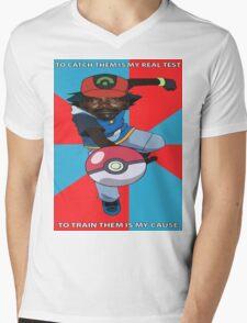 Kony Pokemon Mens V-Neck T-Shirt