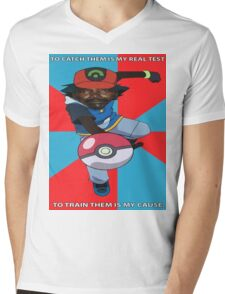 Kony Pokemon Mens V-Neck T-Shirt