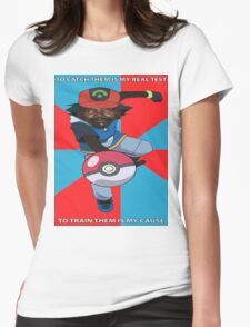 Kony Pokemon Womens Fitted T-Shirt
